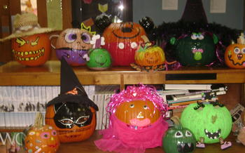 See our cool pumpkins!!